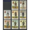 Timor Wschodni 1967 Mi 348-355 Czyste **