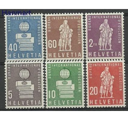 Znaczek Szwajcaria 1958 Mi ibe 40-45 Czyste **