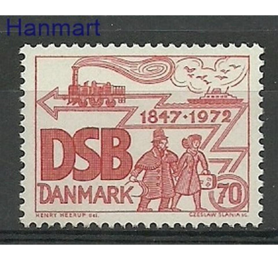 Dania 1972 Mi 523 Czyste **
