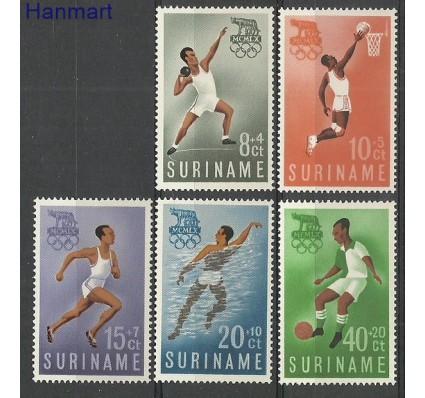 Znaczek Surinam 1960 Mi 384-388 Czyste **