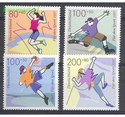 Niemcy 1997 Mi 1898-1901 Czyste **