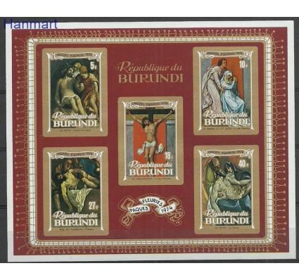 Znaczek Burundi 1974 Mi bl77B Czyste **