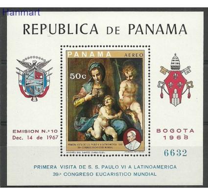 Znaczek Panama 1969 Mi bl106 Czyste **