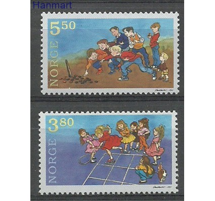 Znaczek Norwegia 1998 Mi 1290-1291 Czyste **