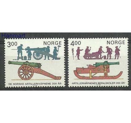 Znaczek Norwegia 1985 Mi 921-922 Czyste **