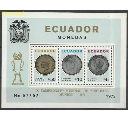 Znaczek Ekwador 1973 Mi bl 62 Czyste **