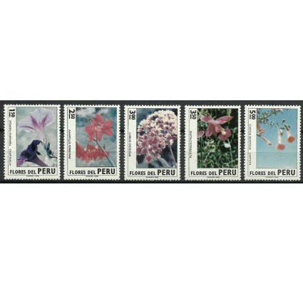 Znaczek Peru 1972 Mi 889-893 Czyste **