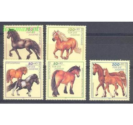 Niemcy 1997 Mi 1920-1924 Czyste **