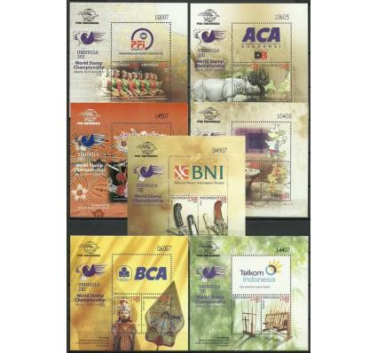 Znaczek Indonezja 2012 Mi bl 288-294 Czyste **