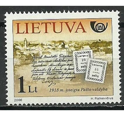 Znaczek Litwa 2006 Mi 917 Czyste **
