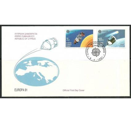 Znaczek Cypr  1991 Mi 771-772 FDC