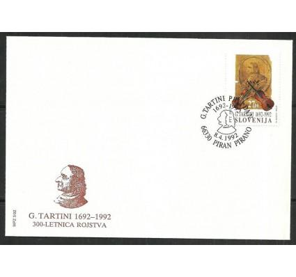 Znaczek Słowenia 1992 Mi 19 FDC
