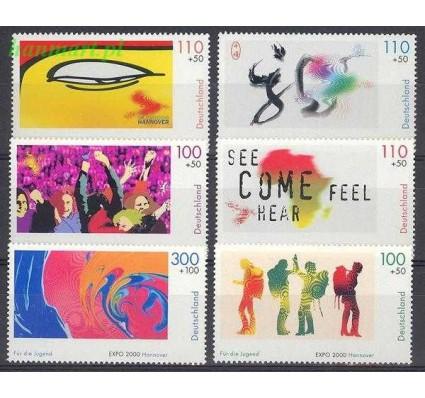 Niemcy 2000 Mi 2117-2122 Czyste **