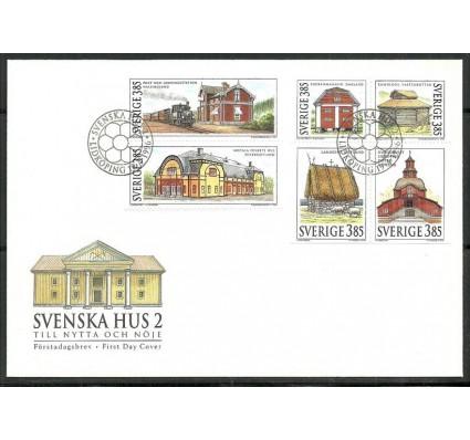 Znaczek Szwecja 1996 Mi h-blatt 241 FDC
