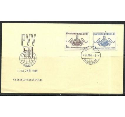 Znaczek Czechosłowacja 1949 Mi 583-584 FDC