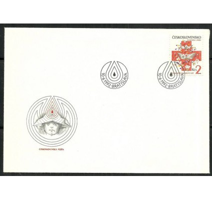 Znaczek Czechosłowacja 1992 Mi 3120 FDC