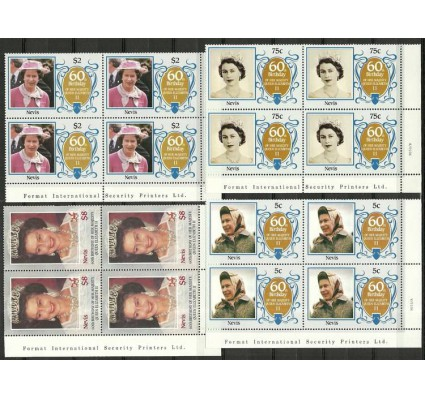 Znaczek Nevis 1986 Mi 372-375 Czyste **
