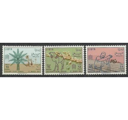 Znaczek Libia 1963 Mi 136-138 Z podlepką *
