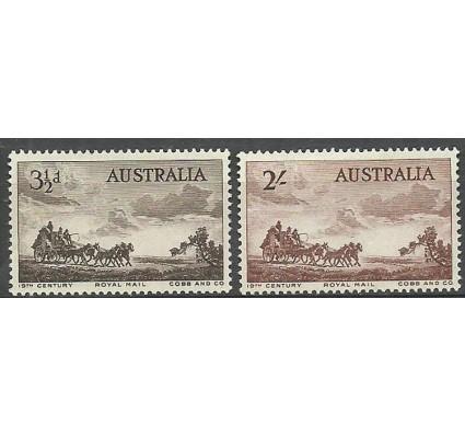 Znaczek Australia 1955 Mi 254-255 Z podlepką *