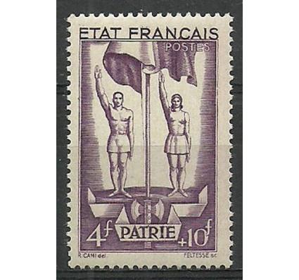 Znaczek Francja 1943 Mi 592 Czyste **