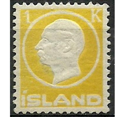 Znaczek Islandia 1912 Mi 73 Z podlepką *