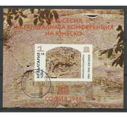 Znaczek Bułgaria 1985 Mi bl 156 Stemplowane