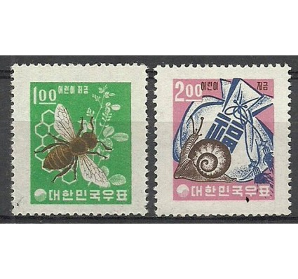 Znaczek Korea Południowa 1962 Mi 375-376 Czyste **