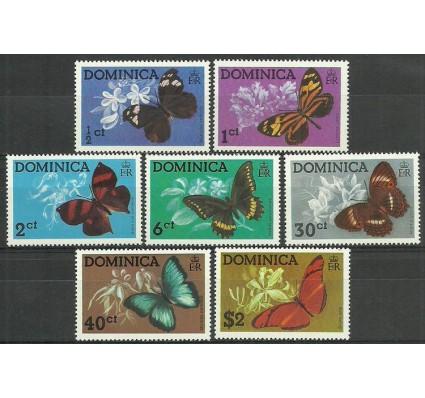 Znaczek Dominika 1975 Mi 430-436 Czyste **
