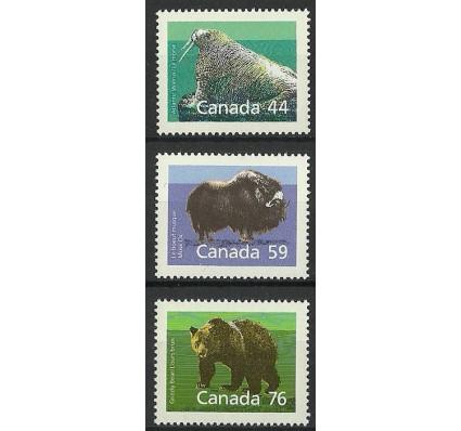 Znaczek Kanada 1989 Mi 1118-1120A Czyste **
