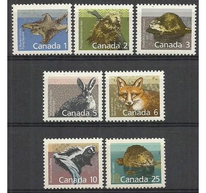 Znaczek Kanada 1988 Mi 1102-1106xA+1107-1108yA Czyste **
