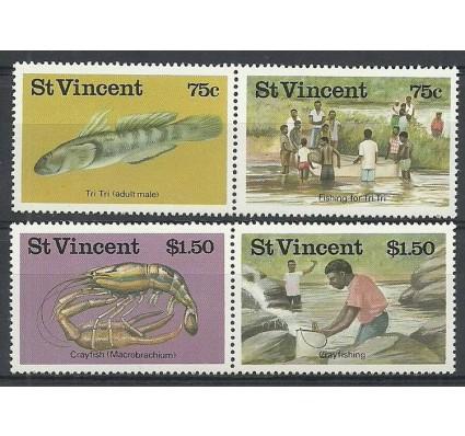 Znaczek St. Vincent 1986 Mi 1008-1011 Czyste **