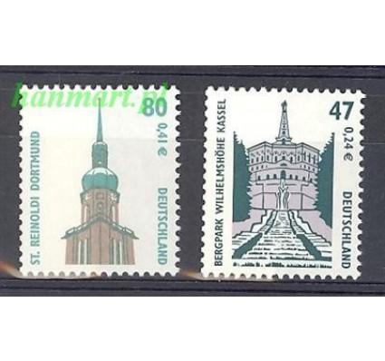 Znaczek Niemcy 2001 Mi 2176-2177 Czyste **