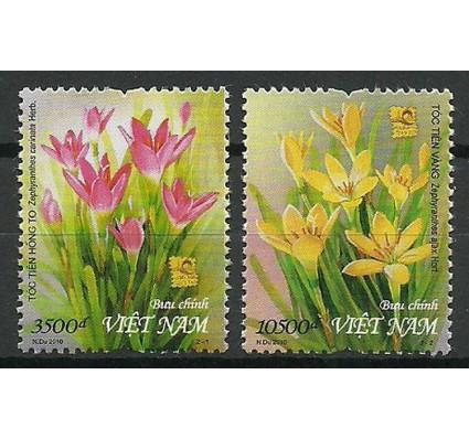 Znaczek Wietnam 2010 Mi 3551-3552 Czyste **