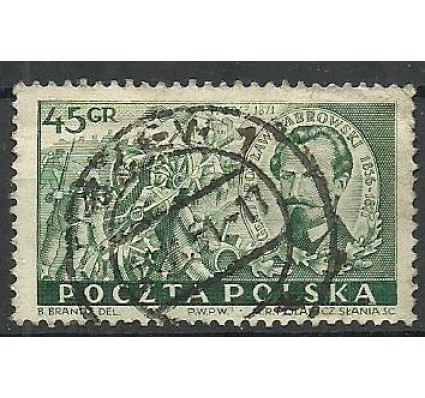 Znaczek Polska 1951 Mi 685 Fi 547 Stemplowane
