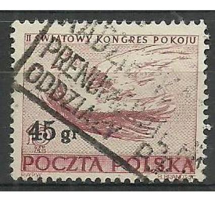 Znaczek Polska 1951 Mi 686 Fi 548 Stemplowane