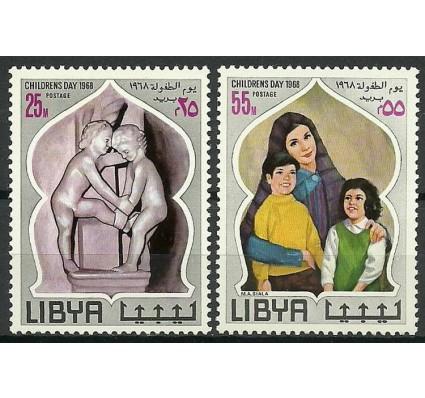 Znaczek Libia 1968 Mi 252-253 Czyste **