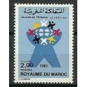 Maroko 1983 Mi 1037 Czyste **