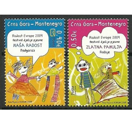 Znaczek Czarnogóra 2009 Mi 220-221 Czyste **
