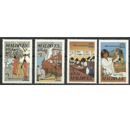 Znaczek Malediwy 1986 Mi 1229-1232 Czyste **