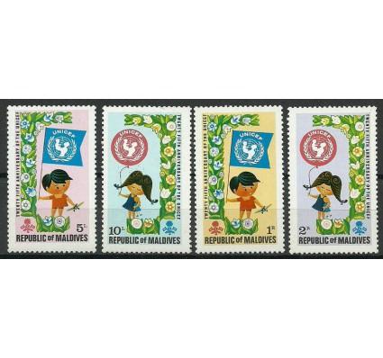 Znaczek Malediwy 1971 Mi 363-366 Czyste **