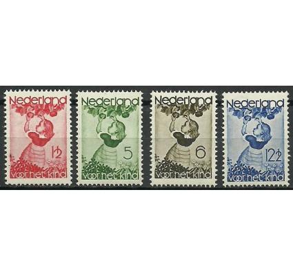 Znaczek Holandia 1935 Mi 287-290 Z podlepką *