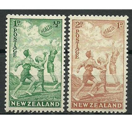 Znaczek Nowa Zelandia 1940 Mi 266-267 Czyste **
