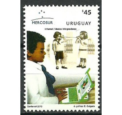Znaczek Urugwaj 2013 Mi 3332 Czyste **