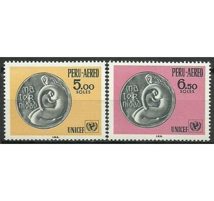 Znaczek Peru 1970 Mi 749-750 Czyste **