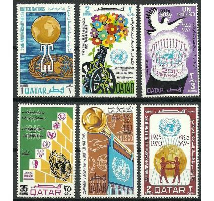 Znaczek Katar 1970 Mi 433-438 Czyste **