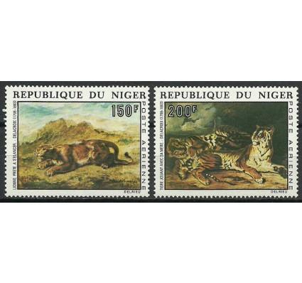 Znaczek Niger 1973 Mi 381-382 Czyste **