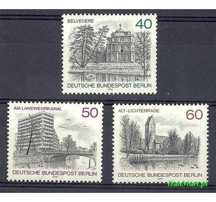Znaczek Berlin Niemcy 1978 Mi 578-580 Czyste **