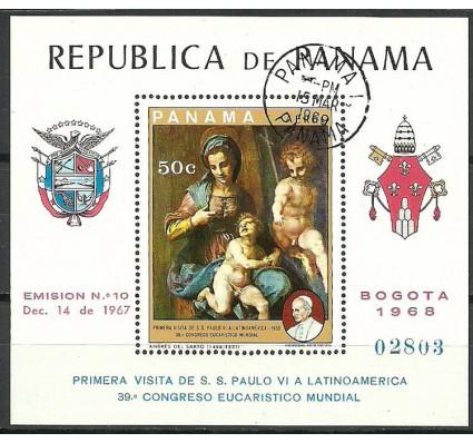 Znaczek Panama 1969 Mi bl 106 Stemplowane
