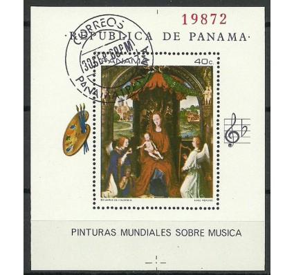 Znaczek Panama 1968 Mi bl93 Stemplowane