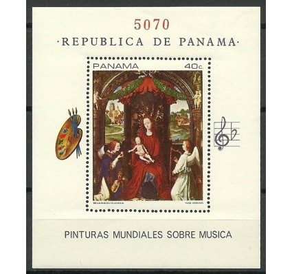Znaczek Panama 1968 Mi bl 93 Czyste **